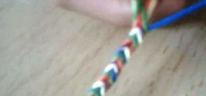 Make a simple braided cloth friendship bracelet