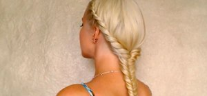 Easy romantic summer hairstyles for medium long hair tutorial 2011 beach party