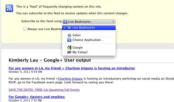 How to Create Google+ RSS Feeds