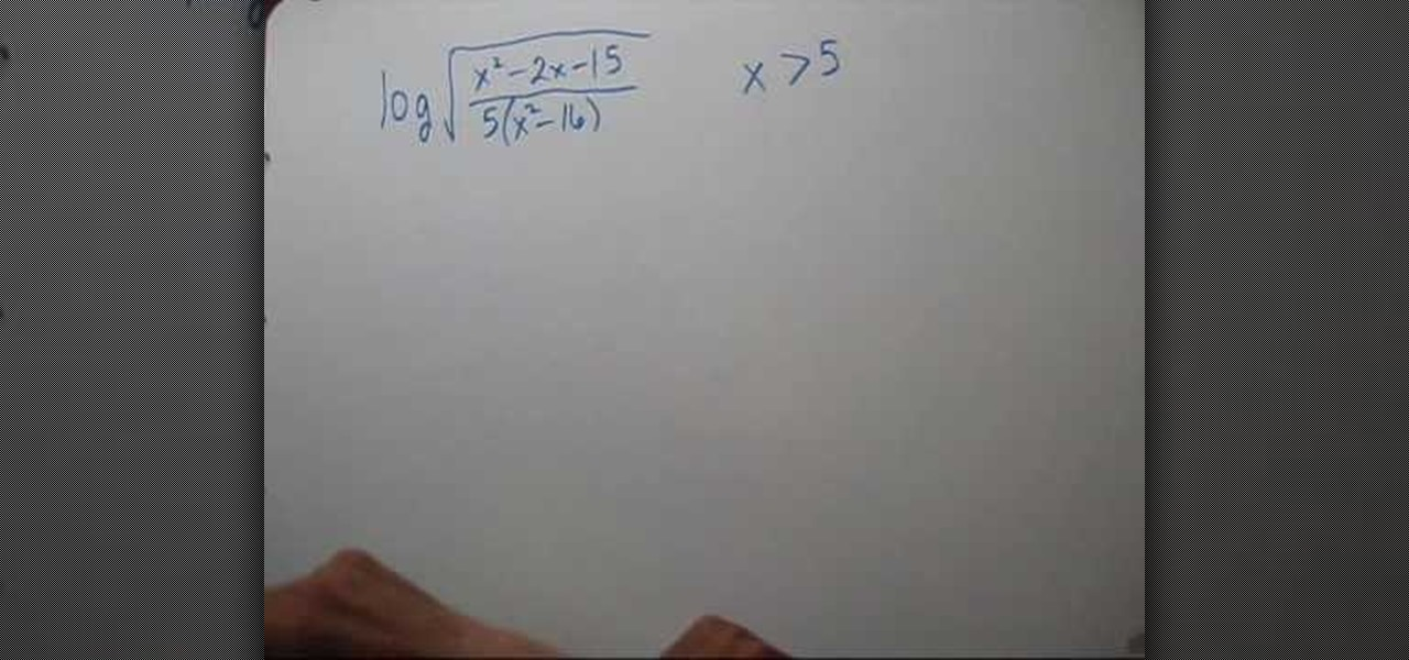 Homework help with logarithms subtraction