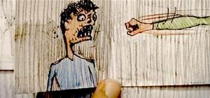 Sick. Decapitating-Head-Exploding Paper Animation (NSFW!)