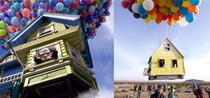 Pixar's UP House Comes to Life