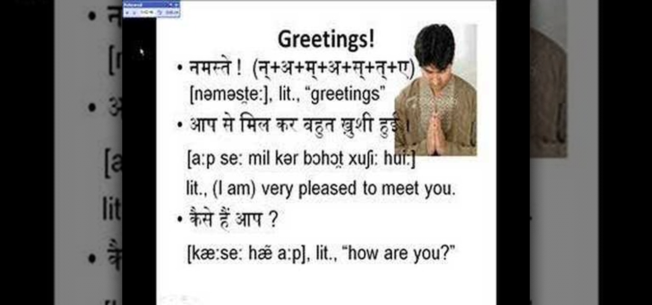 How to Have a basic conversation in Hindi « Other Languages