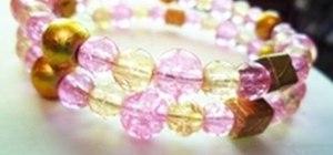Make a memory-wire bracelet