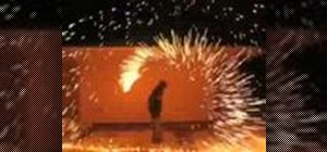 Make cool steel wool fireworks