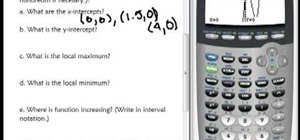 Graph x & y intercepts on a TI-84 Plus calculator