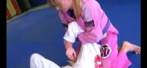 Do a kimura submission from side control in MMA fighting
