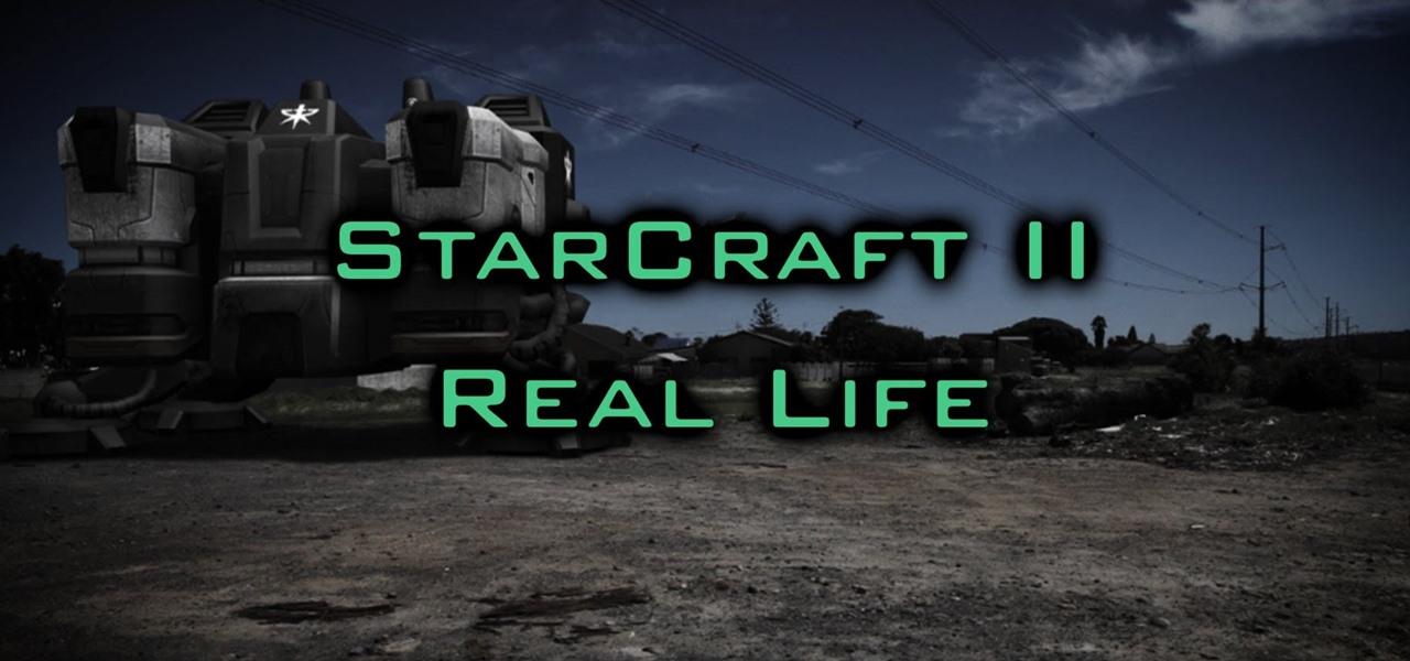 StarCraft II Real Life
