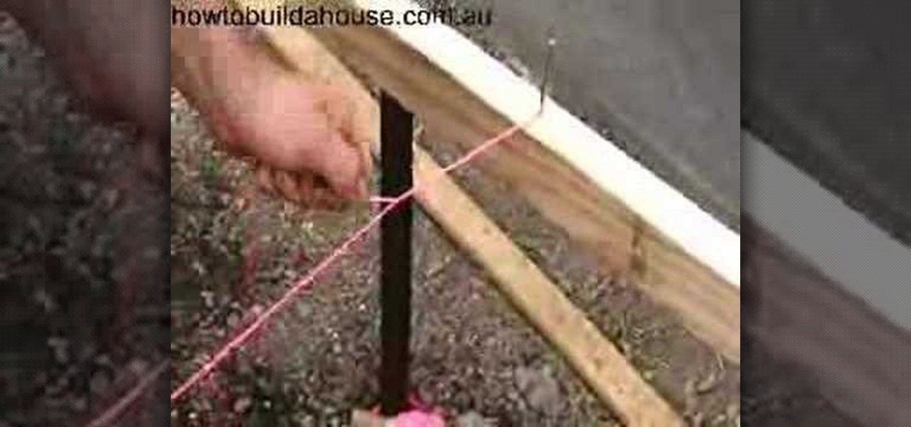 How To Tie A String Line 171 Construction Amp Repair