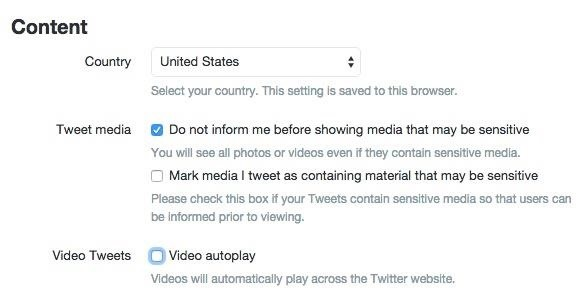 How to Disable Twitter's Annoying Autoplay Videos