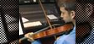 Play Charles de Beriot II on the violin