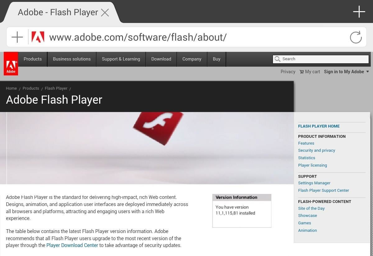 How to install adobe flash player on your nexus 7 running Install adobe flash