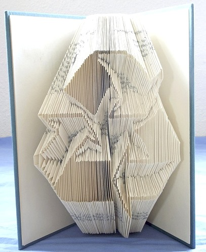 Fastidious Book Art: Cut or Folded?