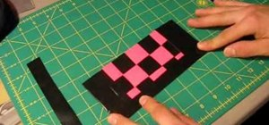 Craft a woven wallet from duct tape
