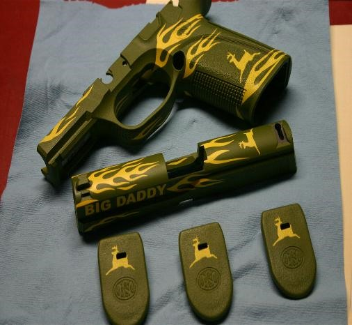 Get Your Gun Custom Painted