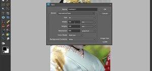 Create black and white edge masks in Adobe Photoshop Elements