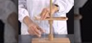 Perform gravity filtration in the chemistry lab