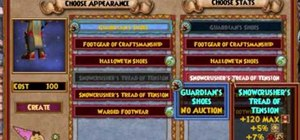 Stitch items in the Wizard101 test realm (10/08/09)