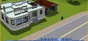 Build a traditional family house in Sims 3