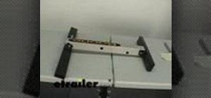 Assemble a storage dock bike rack cargo carrier