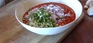 Make Santa Maria style salsa