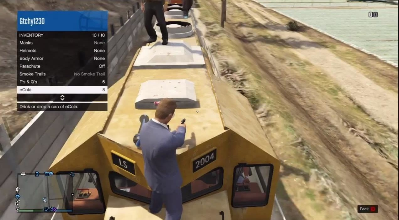 How To Get Into A Train S Cockpit On Gta 5 Online For A Different