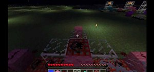 Create a TNT or sand cannon in Minecraft 1.8