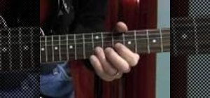 Play a B.B. King-style blues lick on the guitar