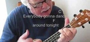 "Play Paul McCartney's ""Dance Tonight"" on the ukulele"