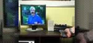 Turn a computer monitor into a TV
