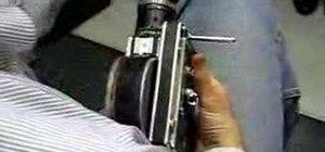 Use a 16mm Bolex camera