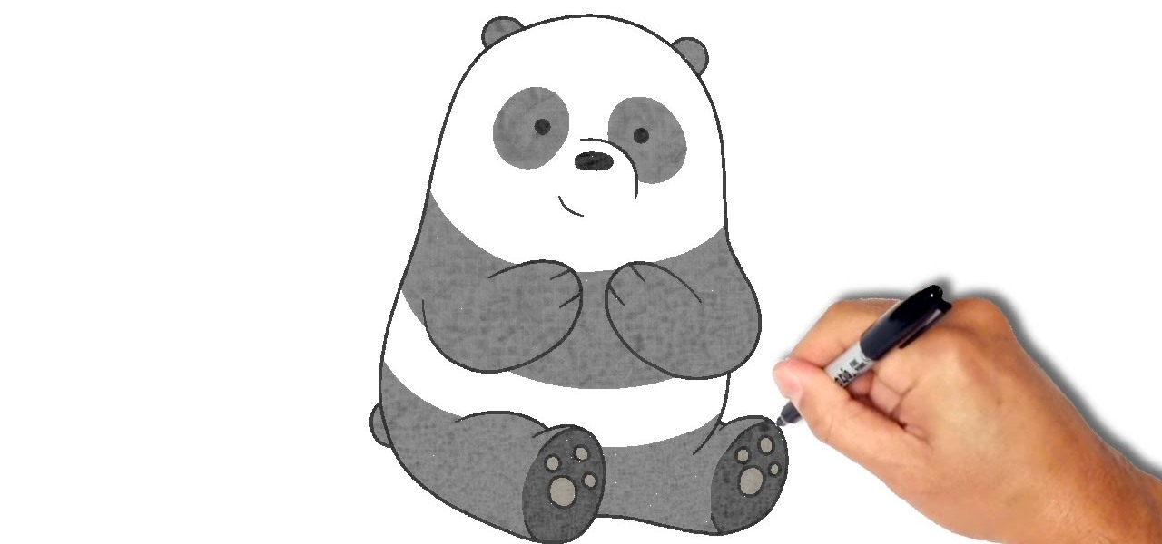 How To Draw And Paint Panda Drawing Illustration WonderHowTo