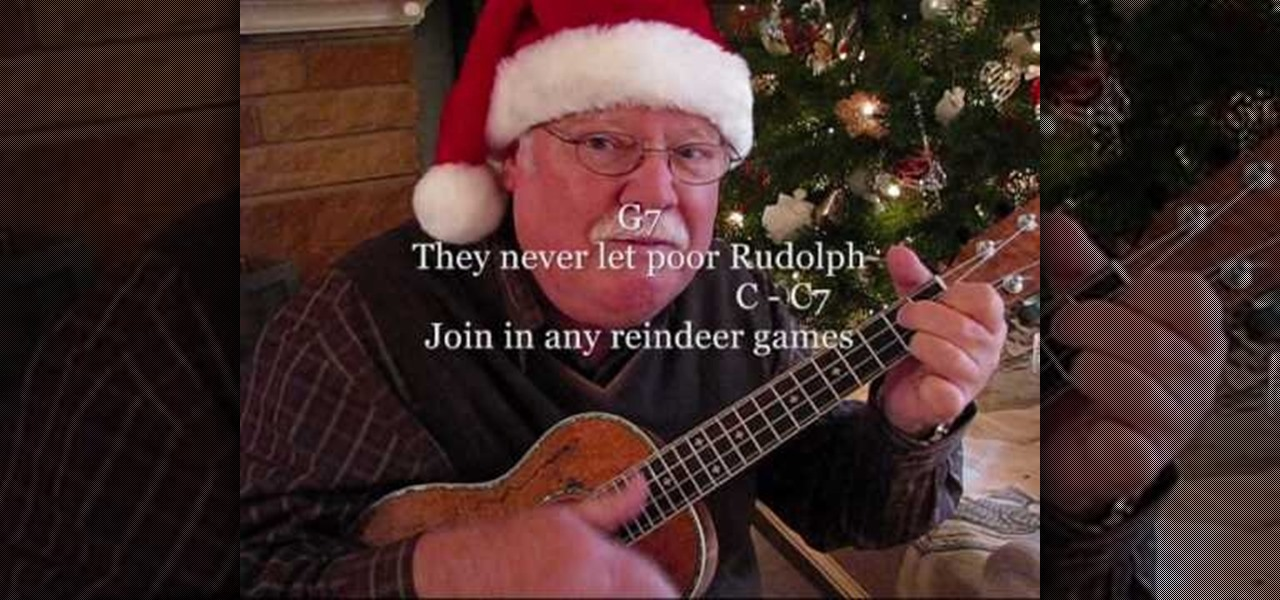 How To Play Rudolph The Red Nosed Reindeer On The Ukulele