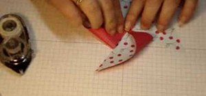 Make a simple pinwheel