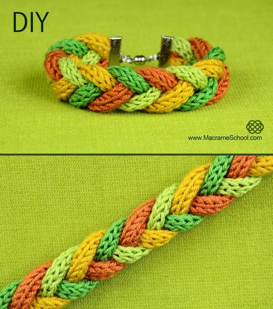 Warm and Soft Winter Bracelet (DIY)