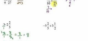 Multiply & divide fractions & mixed numbers