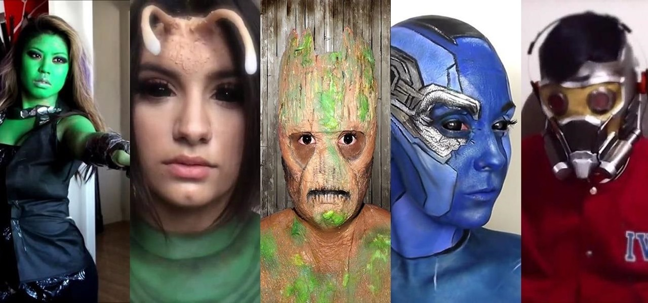 Halloween ideas diy halloween costumes makeup and decorations how to the guardians of the galaxy vs halloween diy costume roundup solutioingenieria Gallery