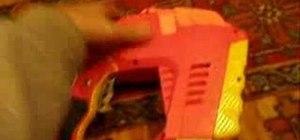 Modify your Nerf Iron Man Magstrike clip