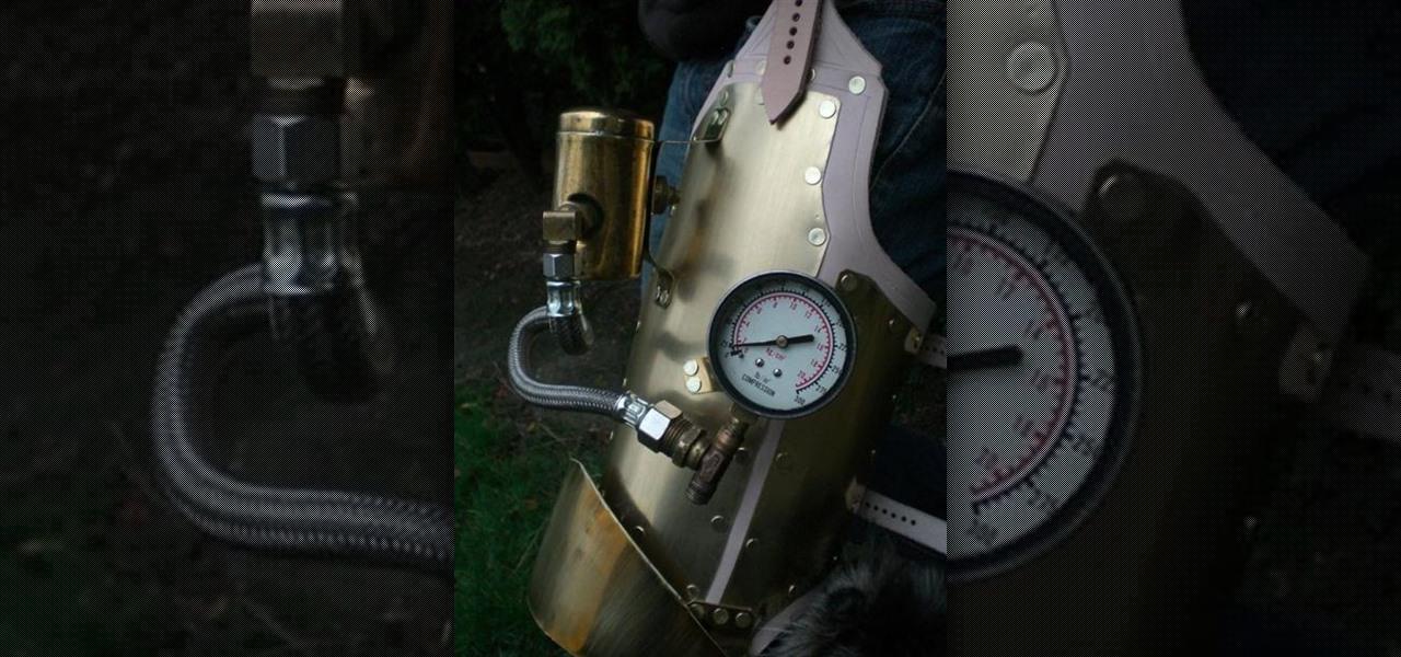 Fully-Articulated Steampunk Leg