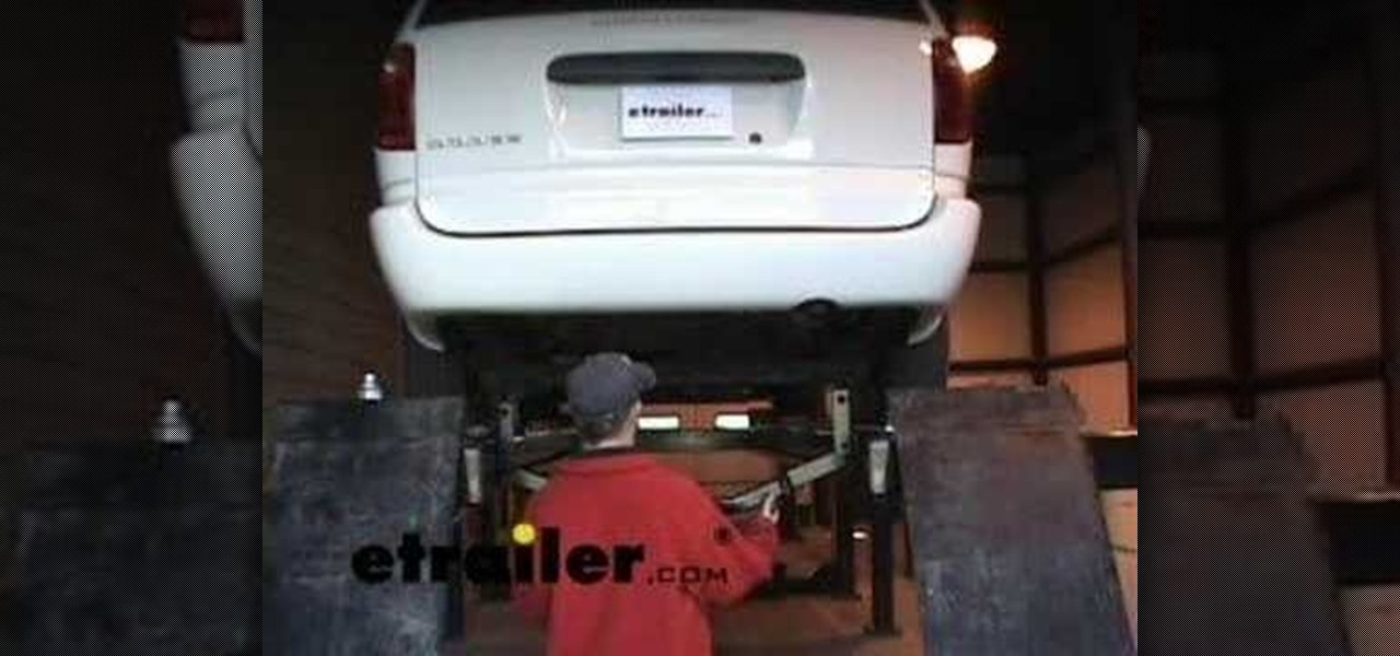 How To Install A Trailer Hitch On A Dodge Caravan 171 Car