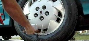 Clean aluminum car wheels