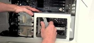 Remove the fans, heat sink and CPU from an Apple Mac Pro