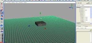 Create a water shader in Maya