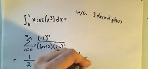 Use Maclaurin/Taylor series to find accurate integrals