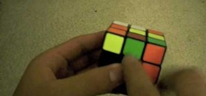"Solve a Rubik's Cube with ""extended cross"" approach"