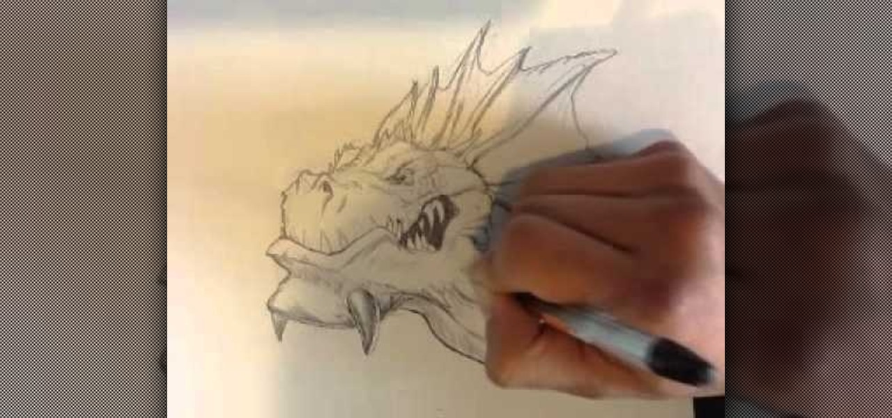 Draw a Dragon Head