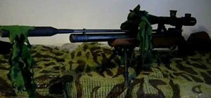 Camouflage your airsoft rifle cheaply