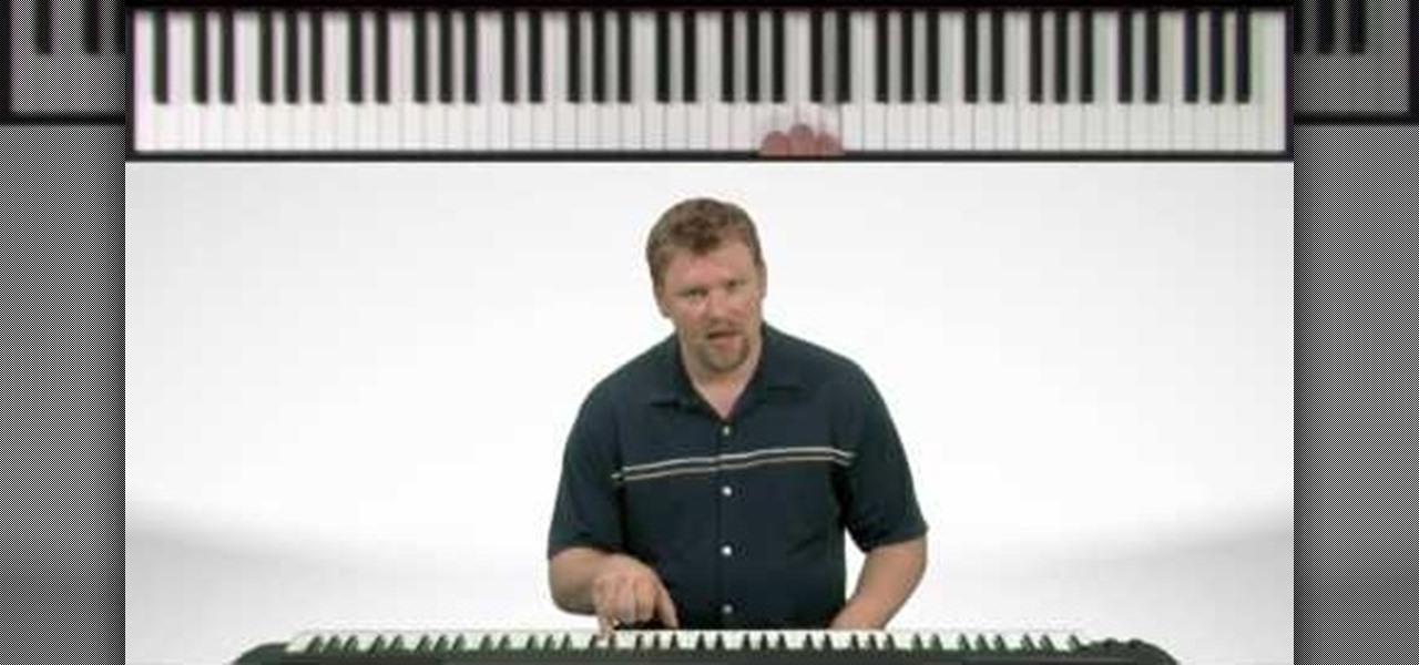 How To Play Row Row Row Your Boat On The Piano Piano