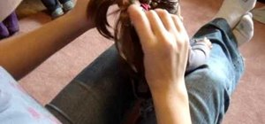 Do a cute hairstyle on an American Girl with short hair