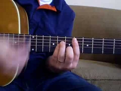 """Play """"Goodbye Mr. A"""" by the Hoosiers on guitar"""